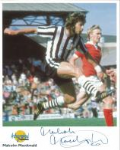 Malcolm McDonald (Football) - Genuine Signed Autograph 7869